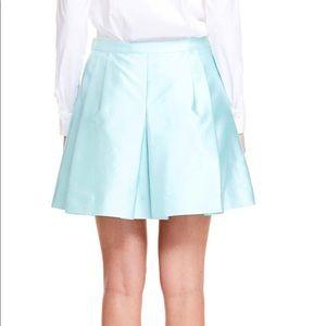Vineyard Vines Pleated Silk Cotton Skirt